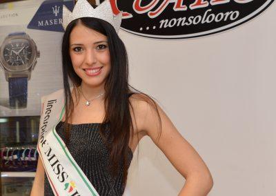 Miss Italia, sponsor Miluna gioielli, presso la Gioielleria Quatto