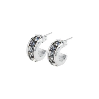 Orecchini Brosway Tres Jolie con cristalli colore grigio - Orecchini Torino