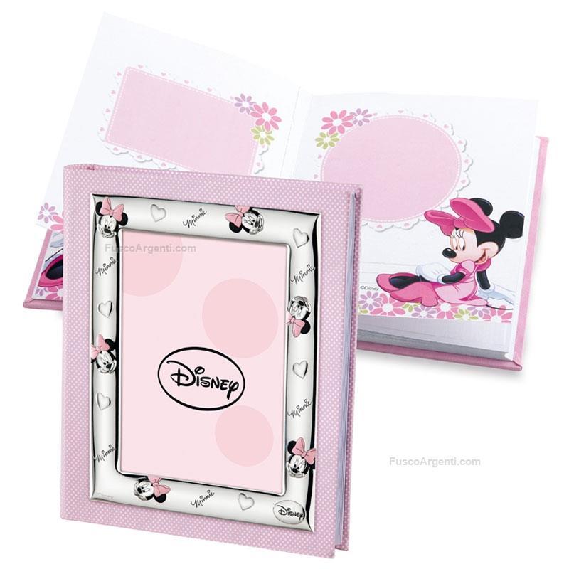 Album foto Disney Valenti per bimba, rosa Minnie