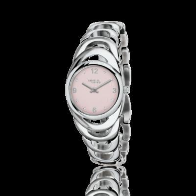 4cef7707743 Orologio da donna Breil con quadrante rosa e swarovski Saturn