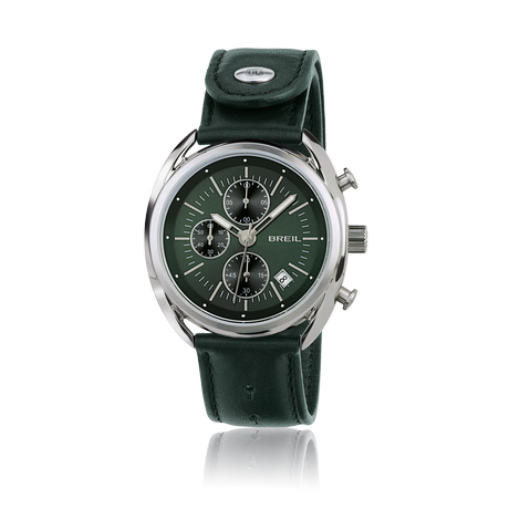 TW1515 Orologio Breil uomo cronografo Beaubourg Verde - Orologi Valsusa