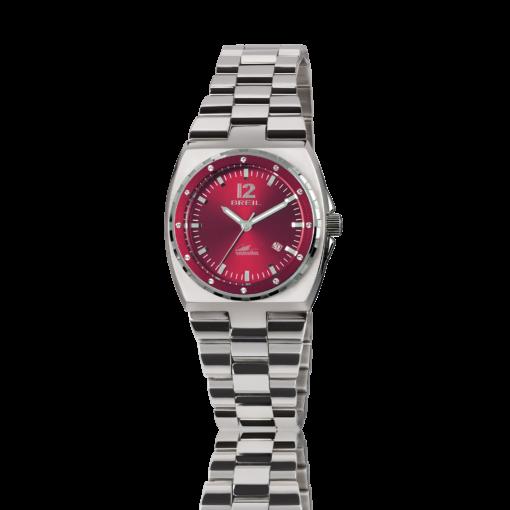 TW1544 Orologio Breil Manta da donna con quadrante rosso - Orologi Valsusa