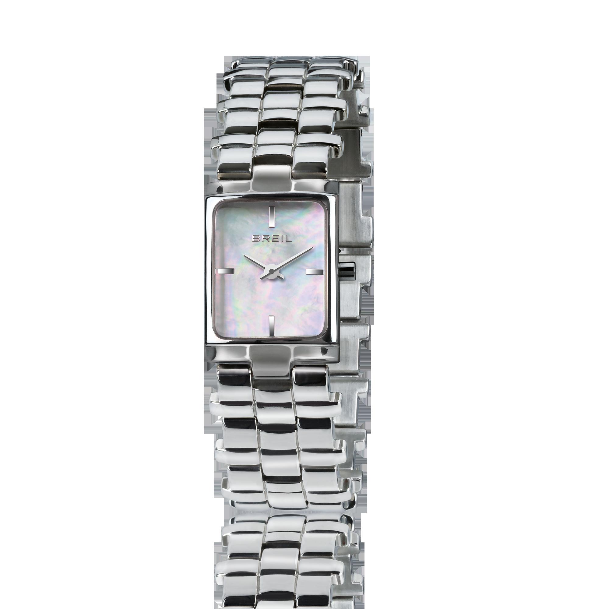 TW1591 Orologio solo tempo da donna Breil con cassa rettangolare e cinturino in acciaio - Orologi Valsusa