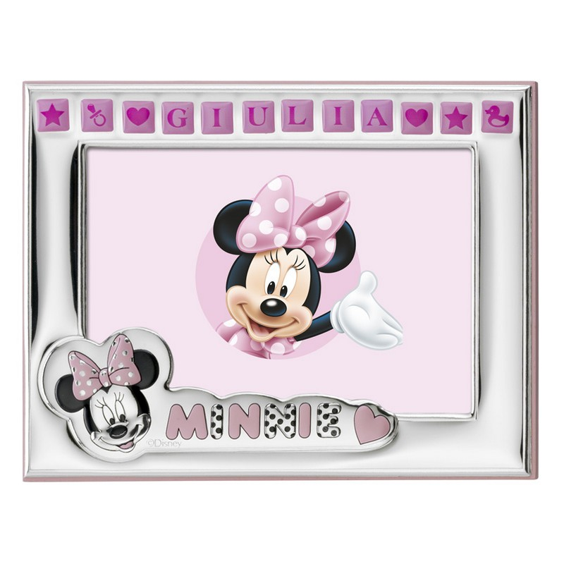 Cornice Disney rosa con Minnie