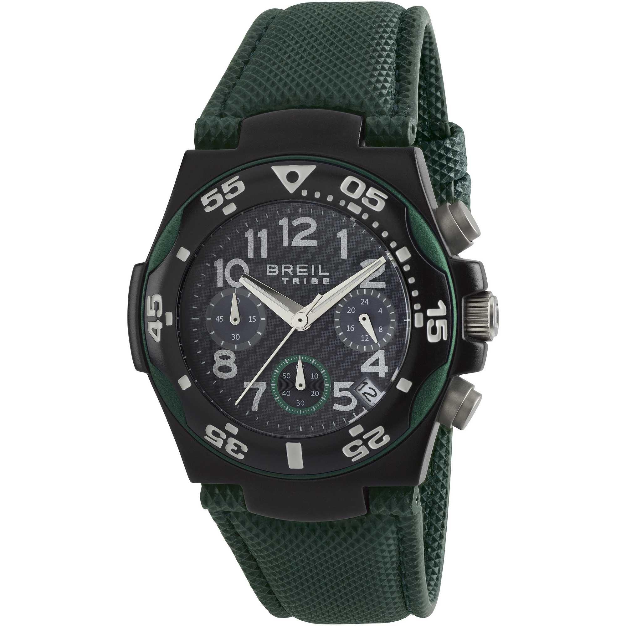EW0286 Orologio cronografo breil uomo Ice Extension Verde - Orologi Valsusa