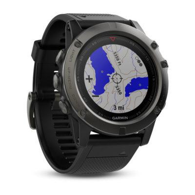 fenix 5x sapphire orologio garmin gps multisport wi-fi cartografico smartwatch