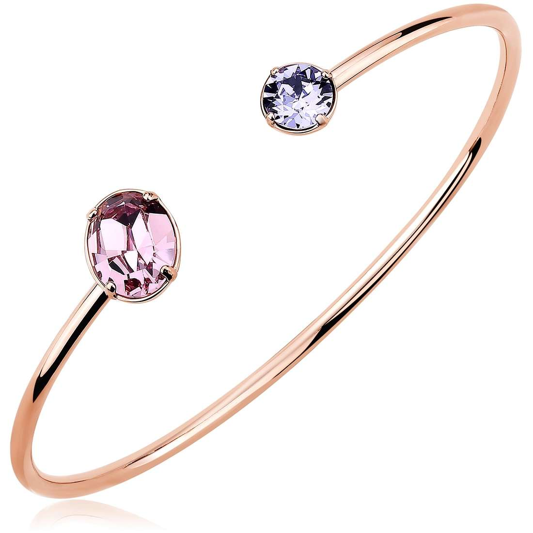 Bracciale Brosway Affinity pvd oro rosa e cristalli swarovski - Bracciali Torino