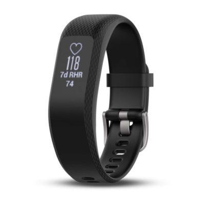 orologio garmin Vivosmart 3 con cinturino in silicone nero