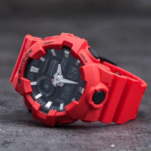i più votati più recenti intera collezione prezzo migliore Orologio Casio G-Shock rosso GA-700-4AER - in offerta da ...