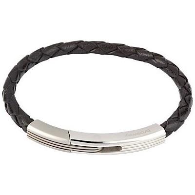 Bracciale Brosway Tulum con cinturino pelle nera - Bracciali Brosway Torino