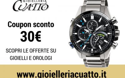 Orologio Casio Edifice : coupon sconto 30€