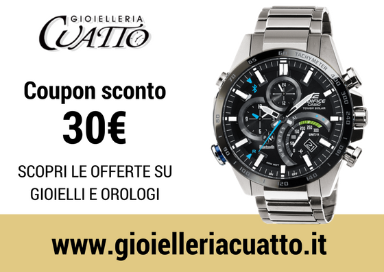 Orologio Casio Edifice : coupon sconto 30€