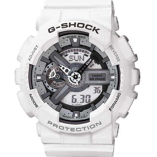 G-SHOCK orologio casio bianco GA-110C-7AER