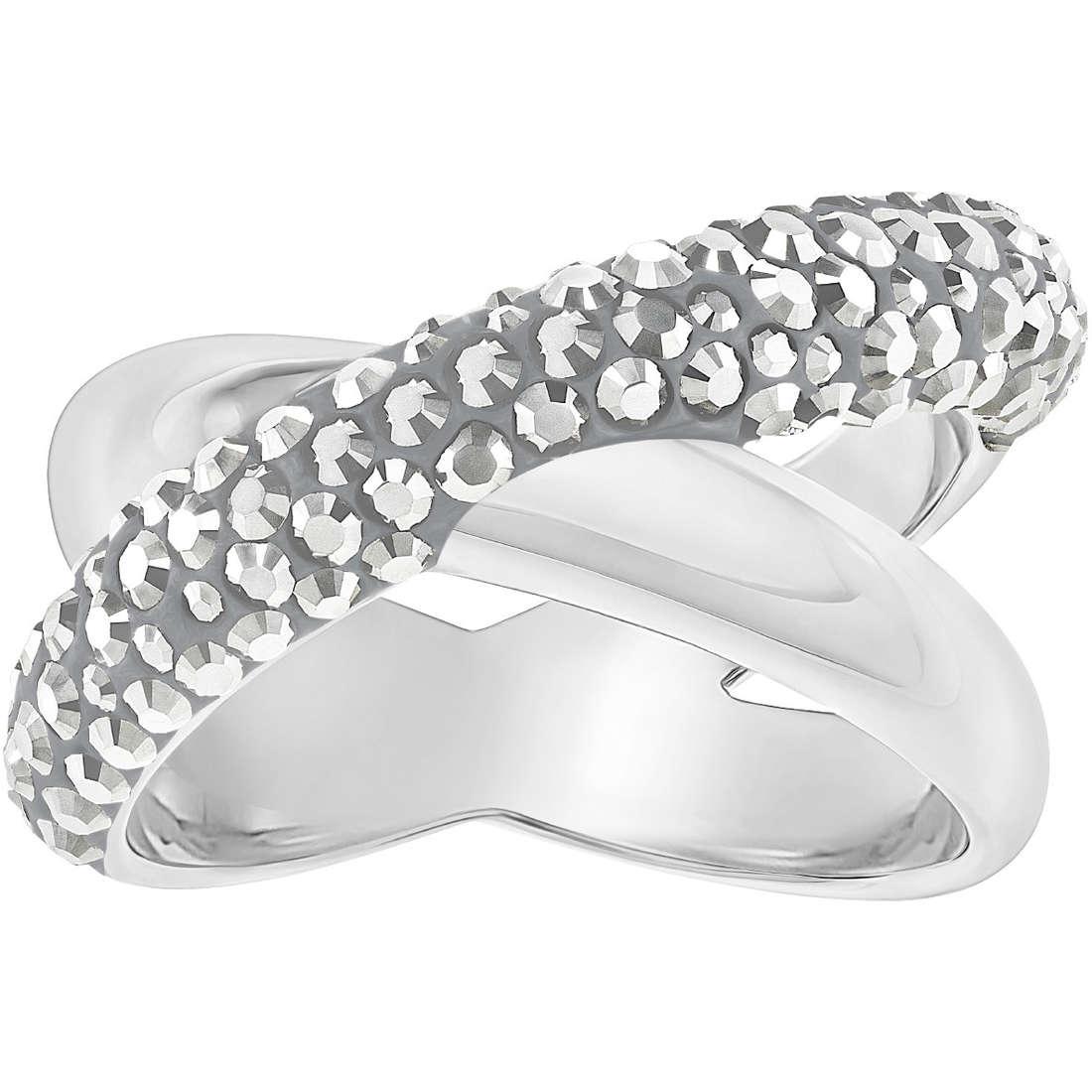 anello swarobvski crystal dust colore argento 5348408