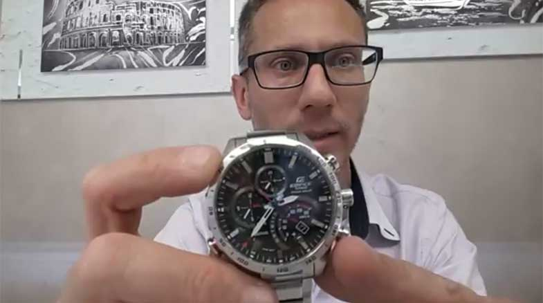 Recensione Casio Edifice Bluetooth