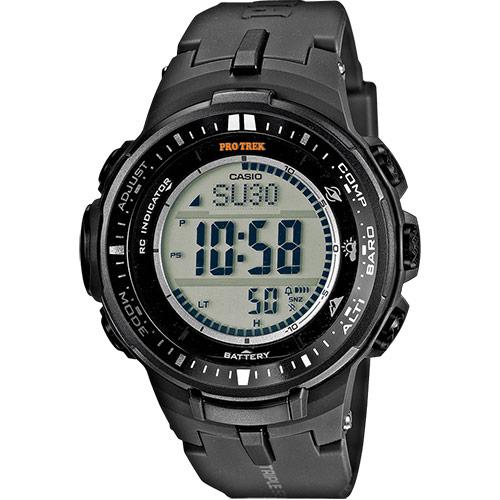 2bfe07139e0 Orologio Casio Pro Trek nero PRW-3000-1ER - orologio con altimetro ...