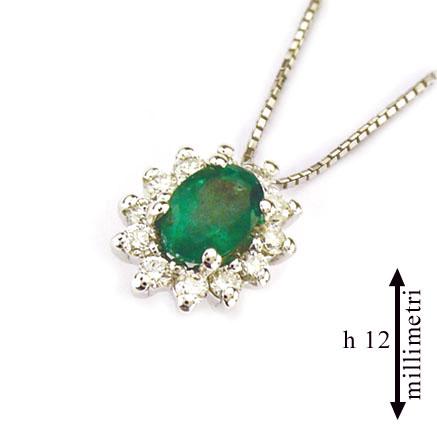 diamante e smeraldo