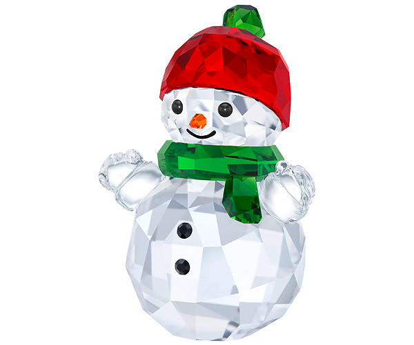 ... Pupazzo di neve con Cappello rosso Swarovski Crystal Living 5288205.  🔍. decorazione per la casa cb661634dd4c