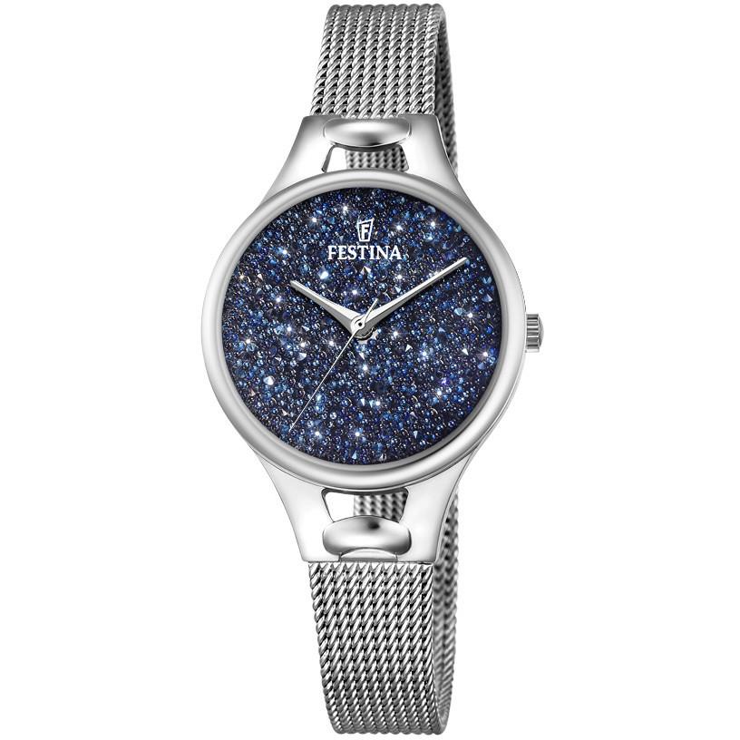 ffa354e8b23051 Orologio da polso Festina Mademoiselle con cristali swarovski - Blu ...