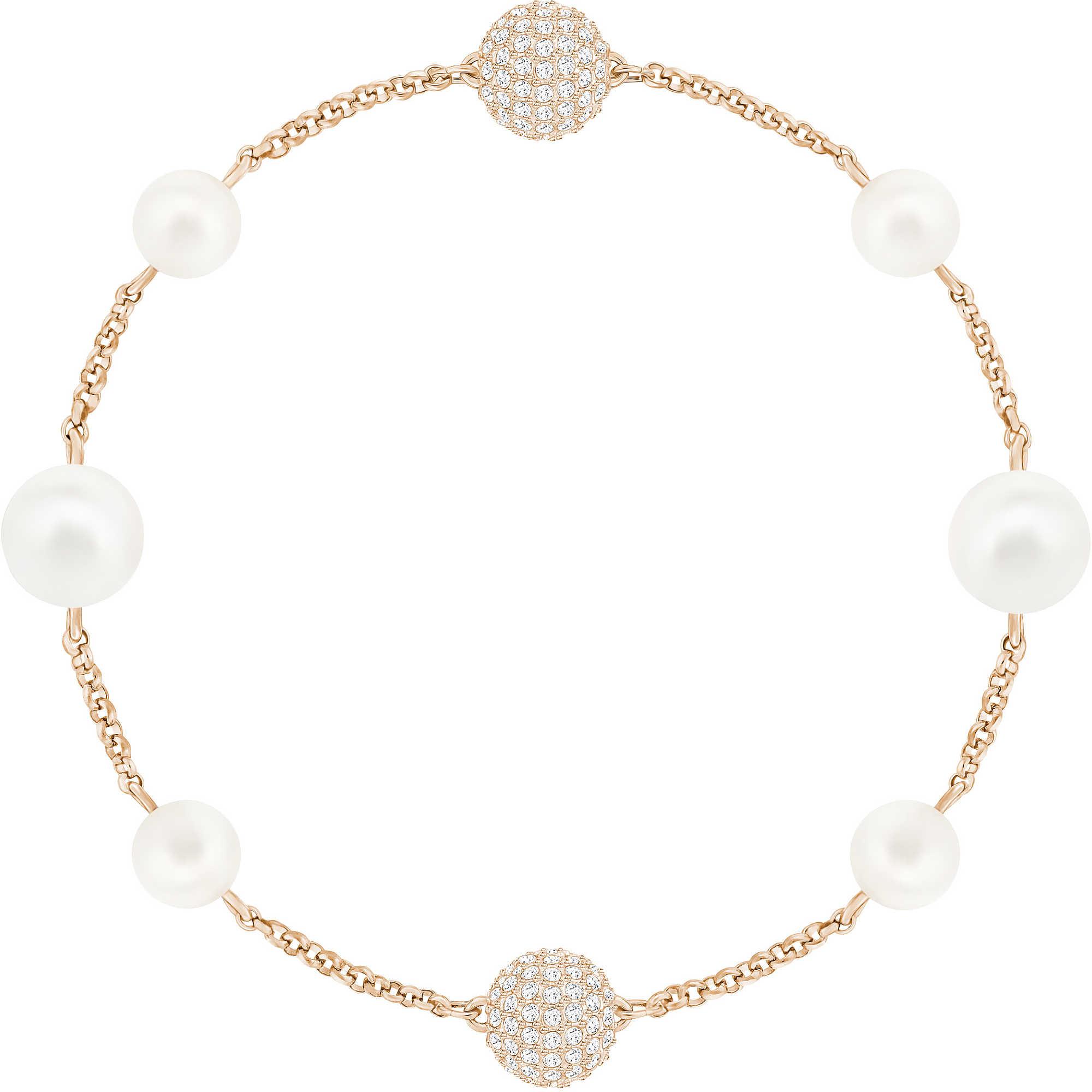 design di qualità b1621 37f41 Bracciale Swarovski Remix oro rosa con perle 5365738