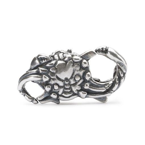 Chisura bracciale trollbeads TAGLO-00057 in argento granchio