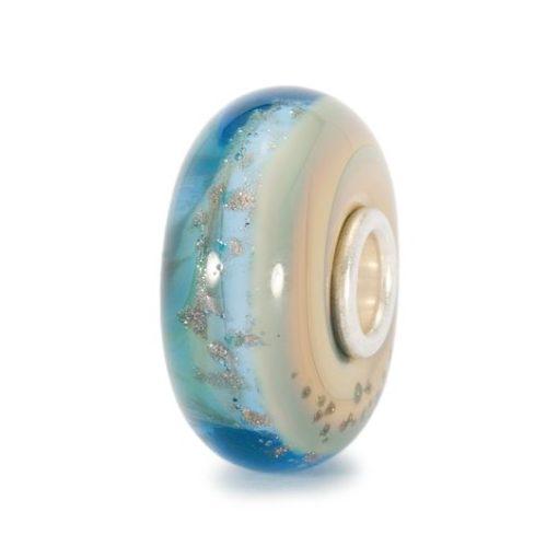 Trollbeads beads Oasi azzurro in vetro di murano, Trollbeads Bussoleno