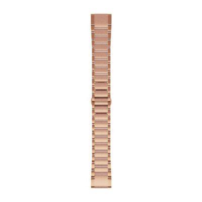 Cinturino Garmin QuickFit 20 mm Rose Gold Acciaio inossidabile