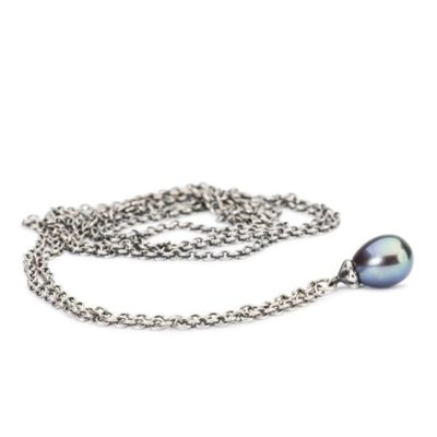 collana trollbeads, collana trollbeads in argento