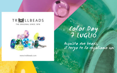 Color Day Trollbeads! Acquista 2 beads, il terzo te lo regaliamo noi!