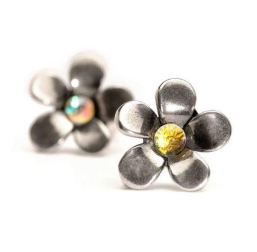 orecchini trollbeads, orecchini in argento, orecchini idea regalo