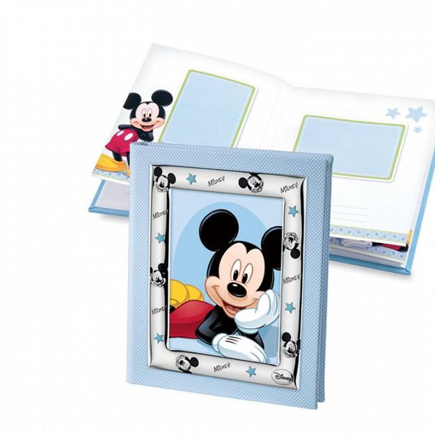 Album Disney blu con Topolino