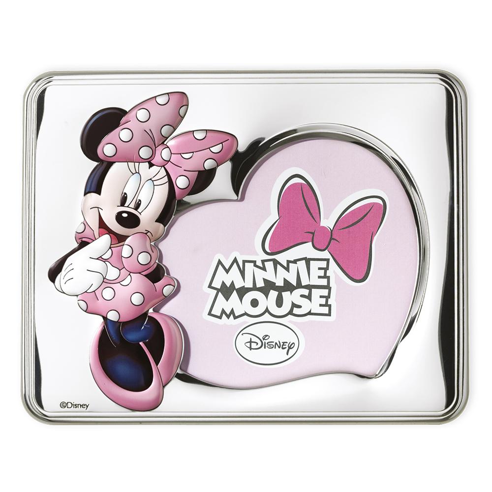 Portafoto Disney rosa con Minnie
