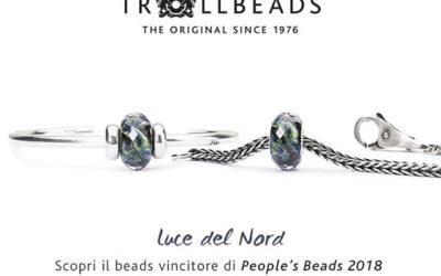 Il vincitore del People's Beads Trollbeads 2018 è Luce del Nord