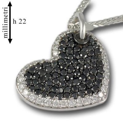 collana in oro, oro e diamanti,