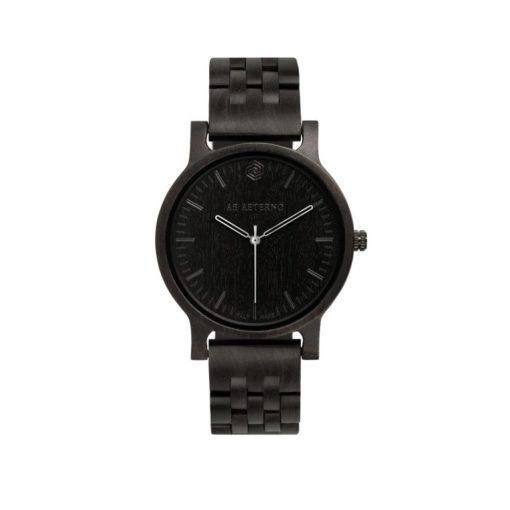 orologio in legbo, orologio ab aeterno, woodwatch