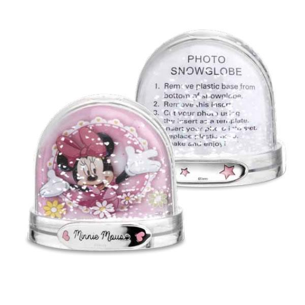Palla di neve portafoto Disney Minnie bimba D282RA