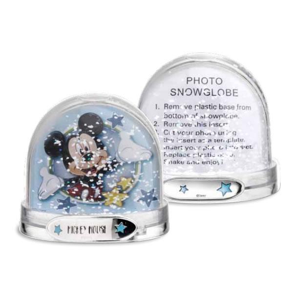Palla di neve portafoto Disney Topolino bimbo D281C