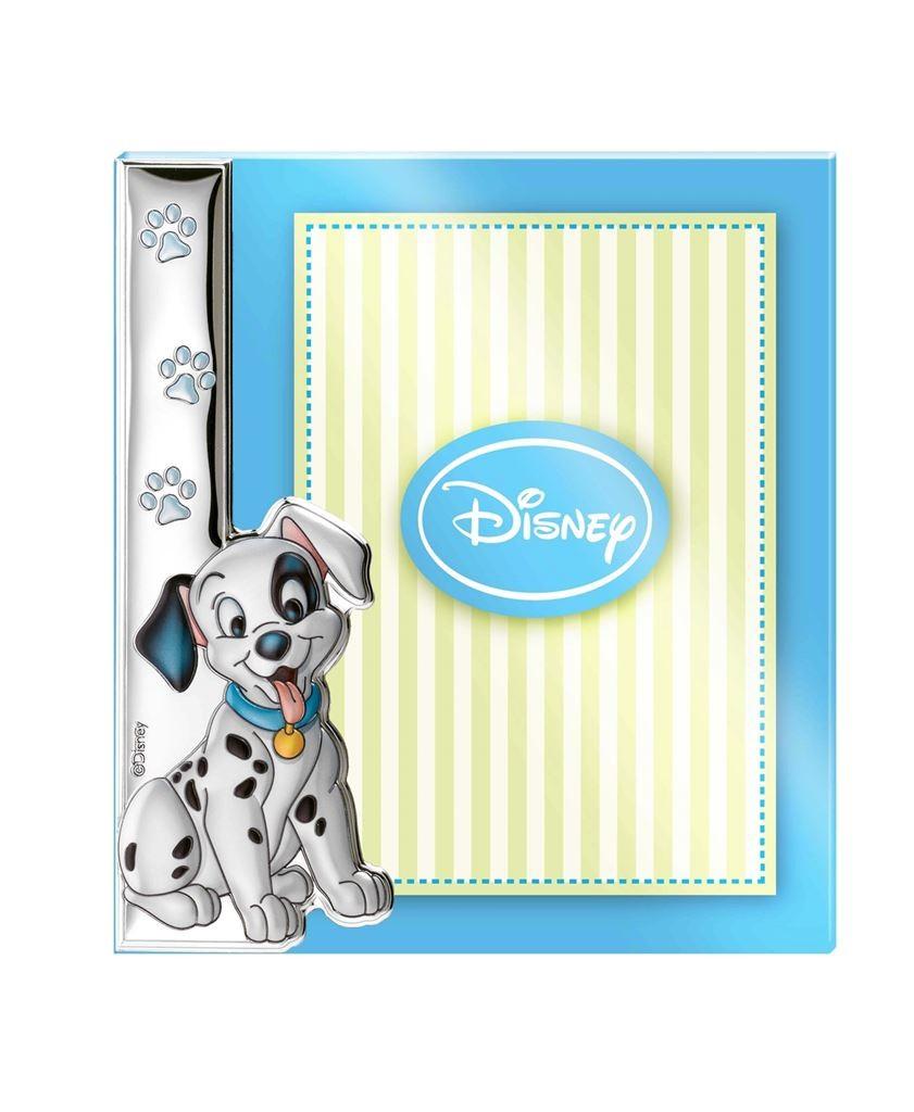 Portafoto Disney blu con la carica dei 101