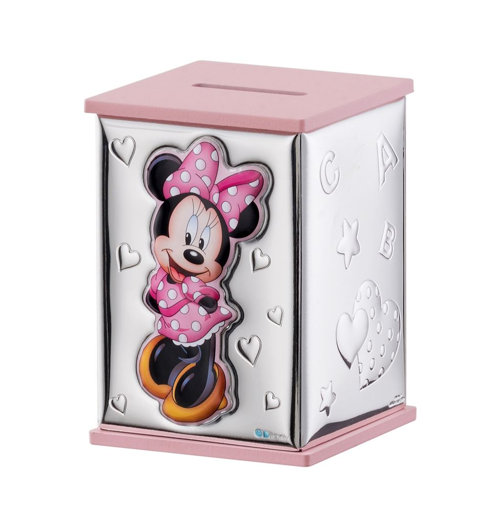 Salvadanaio Disney Minnie rosa bambina D303RA
