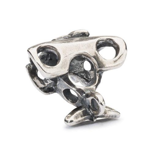 beads trollbeads, bead in argento, aeroplano, Trollbeads susa