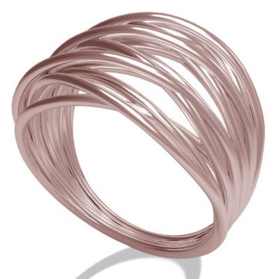 anello oro rosa ,anello gemoro, anello torino, Filo della vita