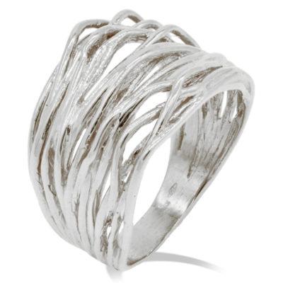 anello in oro bianco fascione donna offerta provincai di torino,offerta anello alto bianco donna, fascione donna in oro bianco offerta provincia di torino