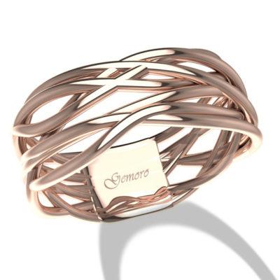 anello in oro rosa donna offerta Susa, offerta anelli in oro rosa fascione provincia di torino,offerta anello donna in oro intrecciato Torino