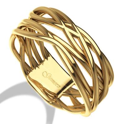 anello in oro giallo donna gemoro offerta cuatto, offerta provincia di torino anelli in oro donna intrecciati,anelli oro giallo donna intrecciato offerta torino