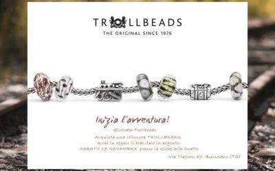 Bracciale Trollbeads in omaggio – Giornata Trollbeads presso la Gioielleria Cuatto