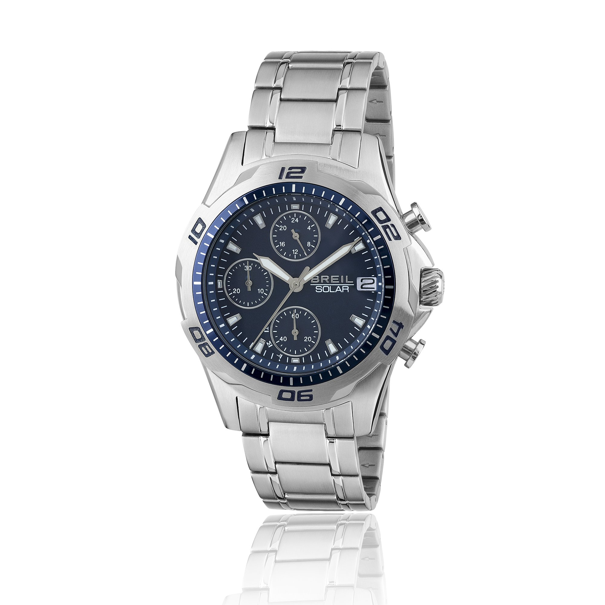 7445c479116fc4 Orologio Breil cronografo Gent uomo TW1769 carica solare blu - in ...