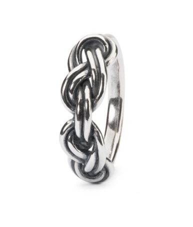 anello trollbeads, anello in argento, anello idea regalo
