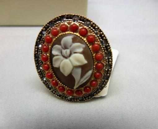 anello donna, gioielli argento, cameo italiano, cameo e argento, cameo torino