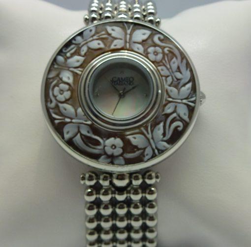 orologio donna,cameo italiano susa,idea regalo donna,orologio con cameo,orologio elegante