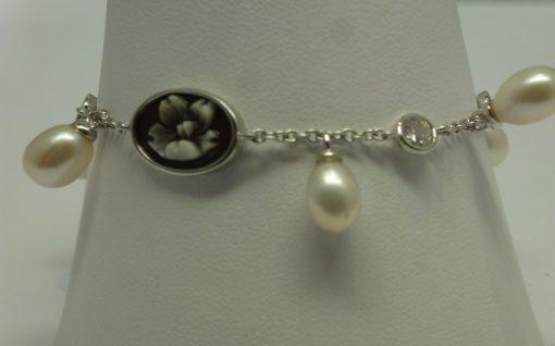bracciale donna,bracciale in argento, cameo susa, cameo torino,